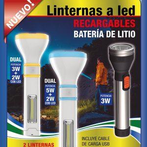 LINTERNAS A LED TBCIN